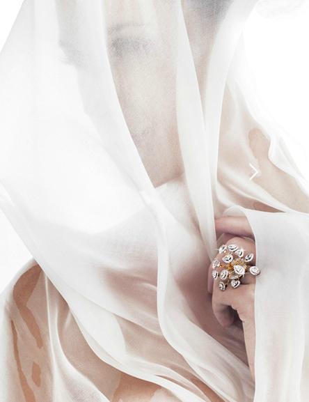 Bina Goenka ring PROFILE: International Luxury Jewellery Designer, Bina Goenka, Creates Timeless Masterpieces To Be Treasured - EAT LOVE SAVOR International luxury lifestyle magazine and bookazines