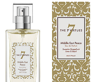 7Virtues middle east peace Virtuous and 'Scent-sational': 7Virtues Fragrances EAT LOVE SAVOR International luxury lifestyle magazine and bookazines