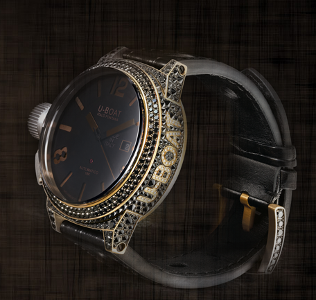 uboat black swan timepiece Tips for Women on Selecting Fine Watches for Men - EAT LOVE SAVOR International luxury lifestyle magazine and bookazines