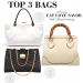 3rd anniversary top 3 bags Celebrating our 3rd Anniversary + Contest! EAT LOVE SAVOR International luxury lifestyle magazine and bookazines