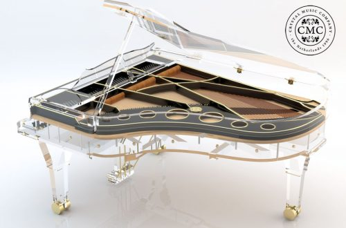 AMX BLACK AND GOLD 2 p Beauty and Music: Luxury Crystal Pianos - EAT LOVE SAVOR International luxury lifestyle magazine and bookazines