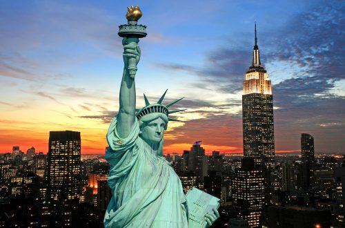 bigstock The Statue Of Liberty And New  2493448 Walking Tours of New York: A Great Way to Discover the City. - EAT LOVE SAVOR International luxury lifestyle magazine and bookazines