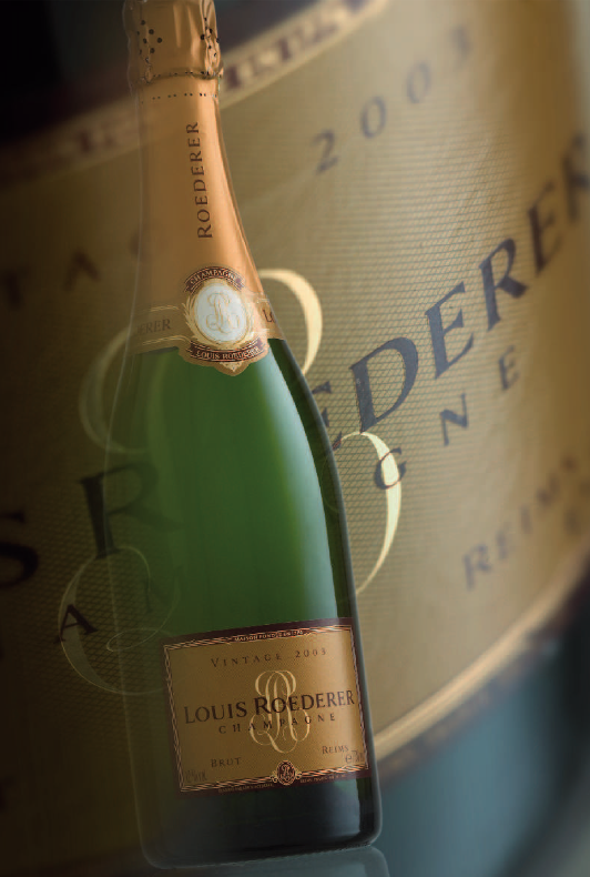 Louis Roederer Champagne vintage 2003 Discover: Louis Roederer Champagne EAT LOVE SAVOR International luxury lifestyle magazine and bookazines