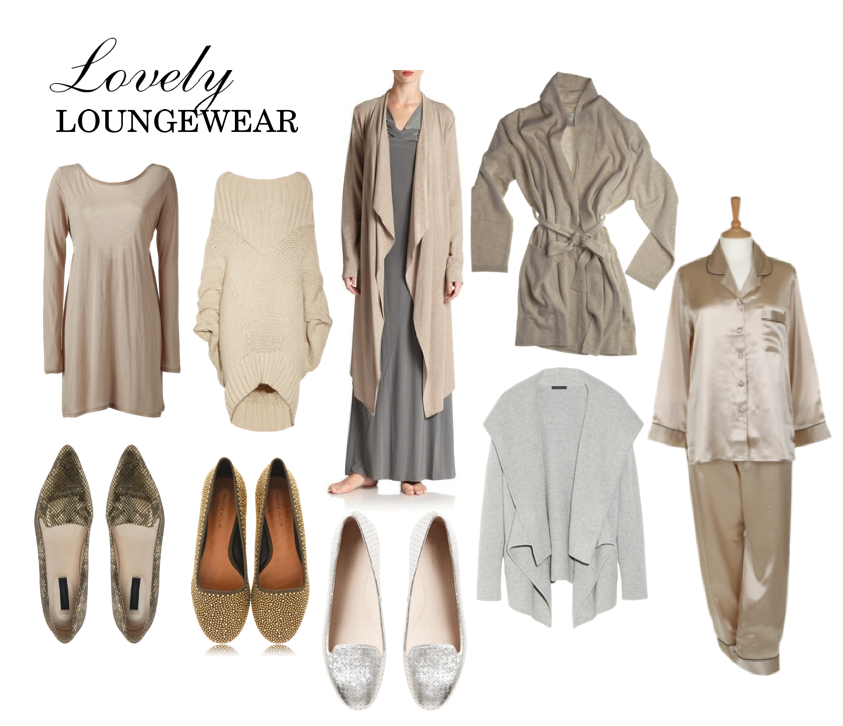 lovely loungewear editorial