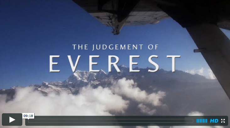 james cluer wine tasting on mount everest