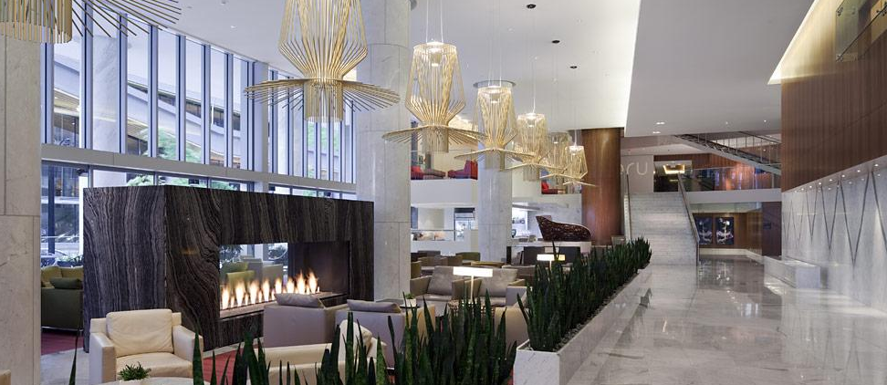 fairmont pacific rim lobby