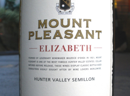 McWilliams Mount Pleasant elizabeth semillon WINE REVIEW: Semillon, McWilliams, Mount Pleasant, Elisabeth, 2006 - EAT LOVE SAVOR International luxury lifestyle magazine and bookazines