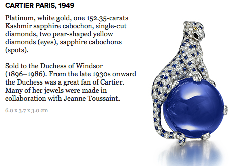 panther clip brooch cartier DISCOVER: Legendary Cartier Director of Luxury Jewelry, Jeanne Toussaint - EAT LOVE SAVOR International luxury lifestyle magazine and bookazines