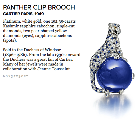 panther clip brooch cartier DISCOVER: Legendary Cartier Director of Luxury Jewelry, Jeanne Toussaint EAT LOVE SAVOR International luxury lifestyle magazine and bookazines