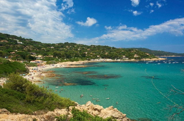 Escalet beach Saint Tropez