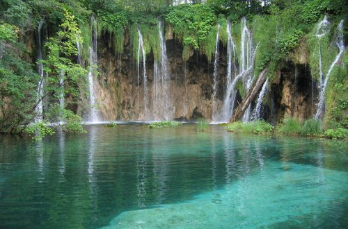 Plitvice Lakes National Park waters Reconnect with Nature: Plitvice Lakes National Park EAT LOVE SAVOR International luxury lifestyle magazine and bookazines