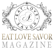 eat love savor 2014 embossed