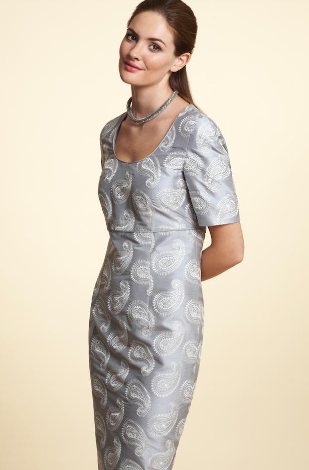 lalage dress grey