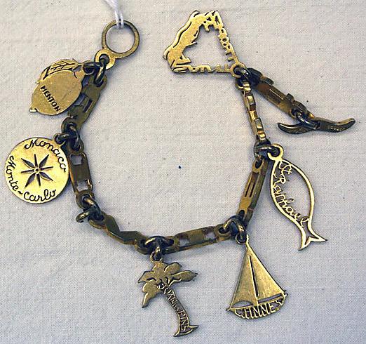 1950s charm bracelet