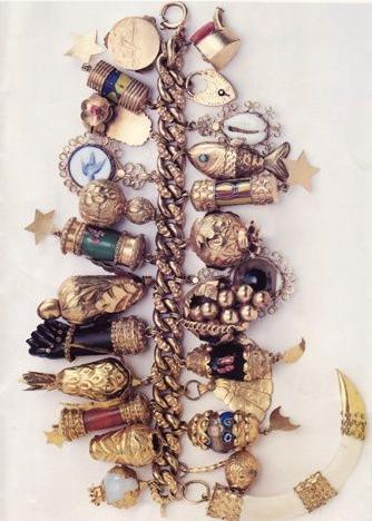 jackie kennedy charm bracelet
