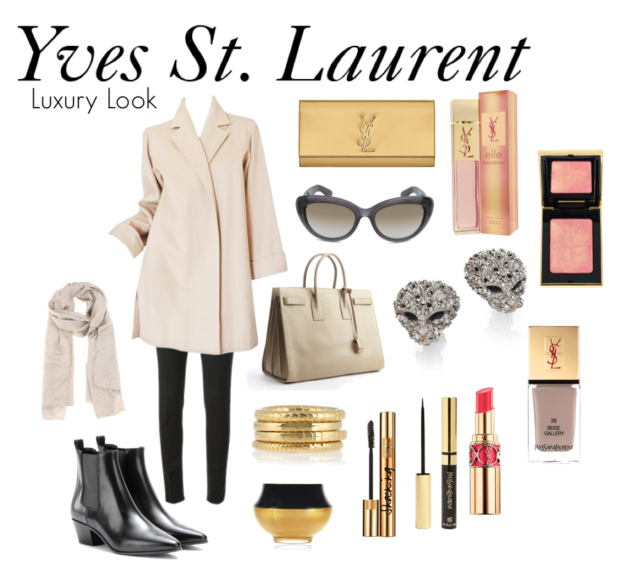 ysl luxury look 2014