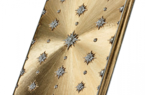 Buccellati diamond iphone cover Buccellati Marries Past and Present to Create a High Jewelry Tech Collection - EAT LOVE SAVOR International luxury lifestyle magazine and bookazines