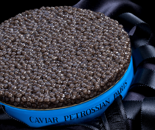 Petrossian caviar blue