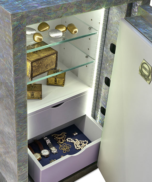 conforti superlativa mother of pearl safes