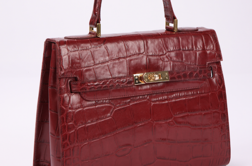 lalage beaumont pavoni bag red2