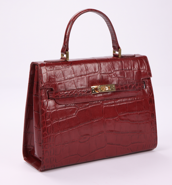 lalage beaumont pavoni bag red