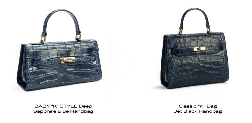 lalage pavoni classic K handbags