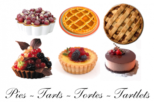 pies tarts tartlets tortes Sweet Bites: A Look at Pies, Famous Tartes and Tortes - EAT LOVE SAVOR International luxury lifestyle magazine and bookazines