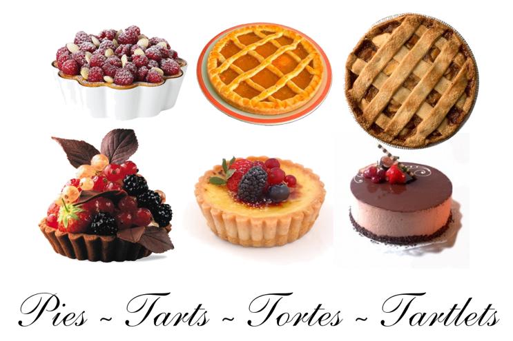 pies tarts tartlets tortes