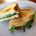 Recipe: Grilled Cheese with Truffle Oil, Arugula and Summer Truffles