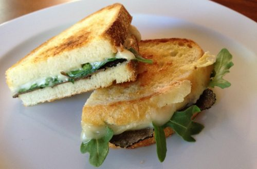 Grilled Cheese with Truffle Oil 1024x768