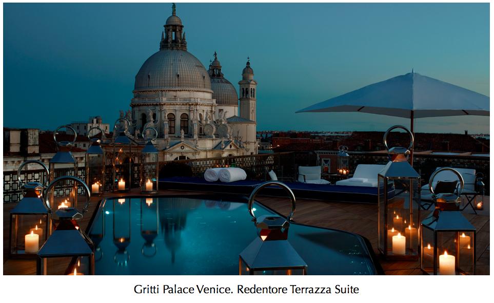 Gritti Palace Venice. Redentore Terrazza Suite