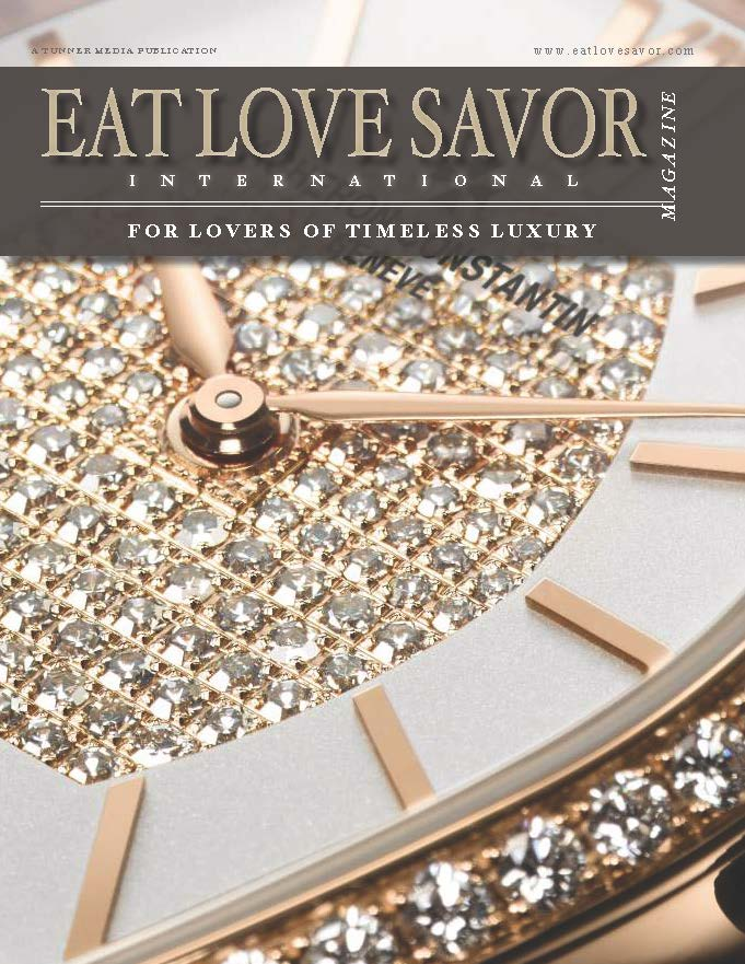 luxury lifestyle magazine eat love savor time issue