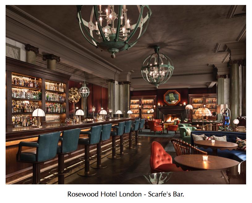 rosewood hotel scarfes bar