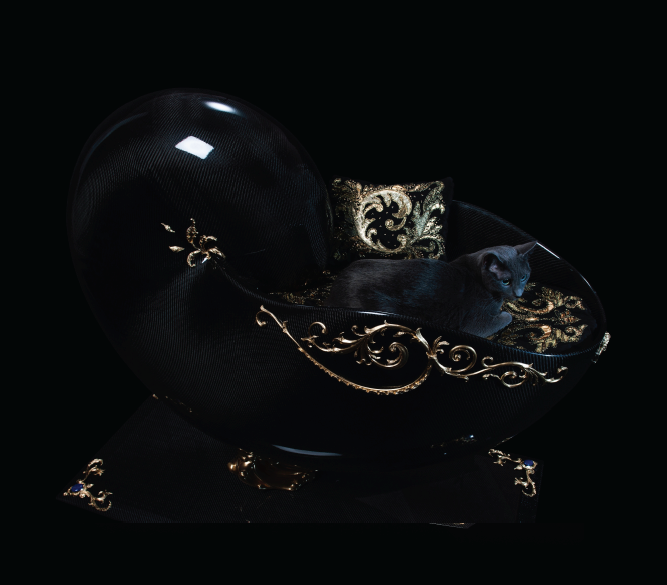 jeweled pet bed2