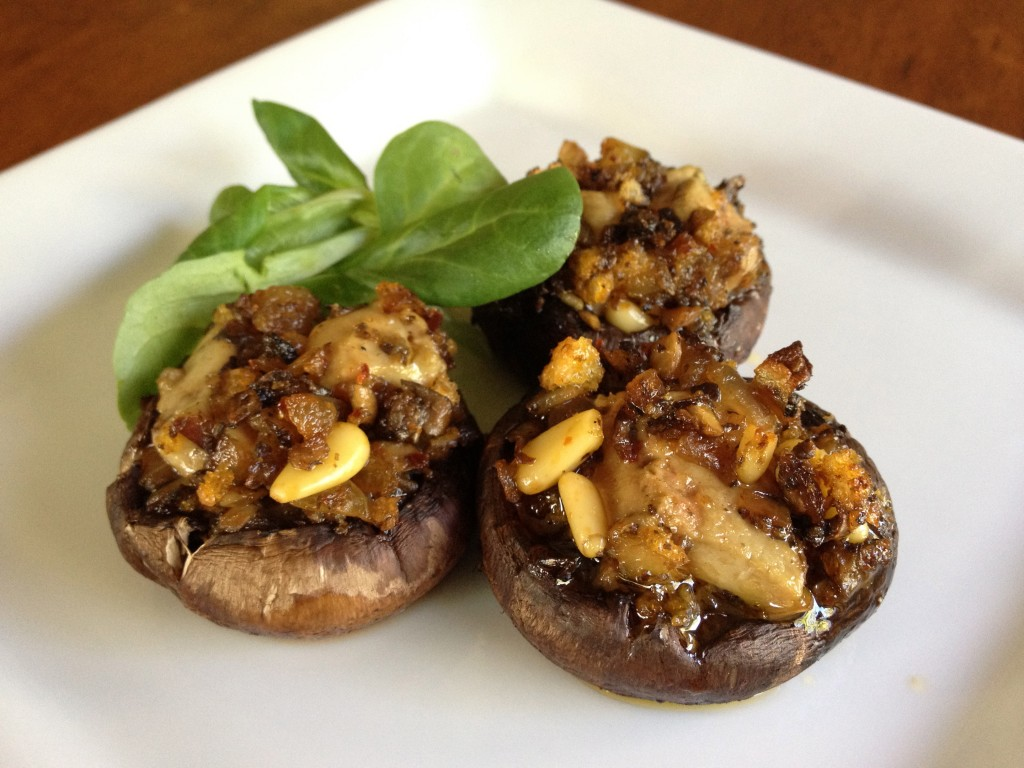 Foie Gras stuffed Mushrooms Luxury Recipe: Foie Gras Stuffed Mushrooms - EAT LOVE SAVOR International luxury lifestyle magazine and bookazines