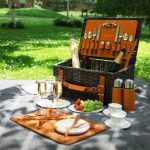 The Elegance and Beauty of Aston Martin in a Picnic Hamper