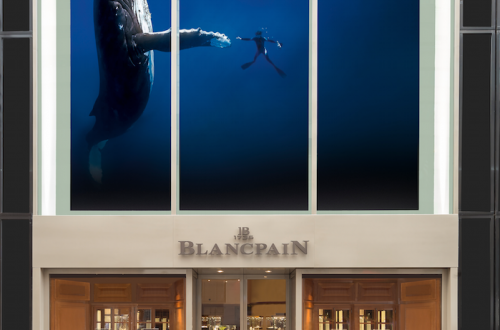 blancpain nyc entrance Blancpain NYC Boutique Blends Rich Heritage, Personality and Technology EAT LOVE SAVOR International luxury lifestyle magazine and bookazines