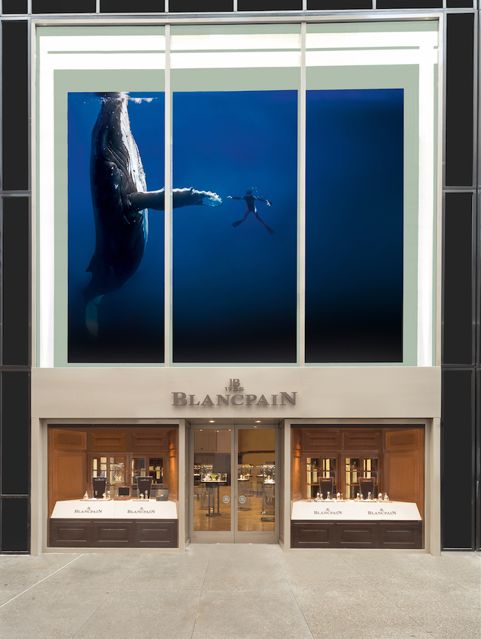 Blancpain boutique New York City entrance