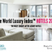 WORLD LUXURY index hotels 2014 Luxury Brands + Interbrand 15th Annual Best Global Brands Report EAT LOVE SAVOR International luxury lifestyle magazine and bookazines