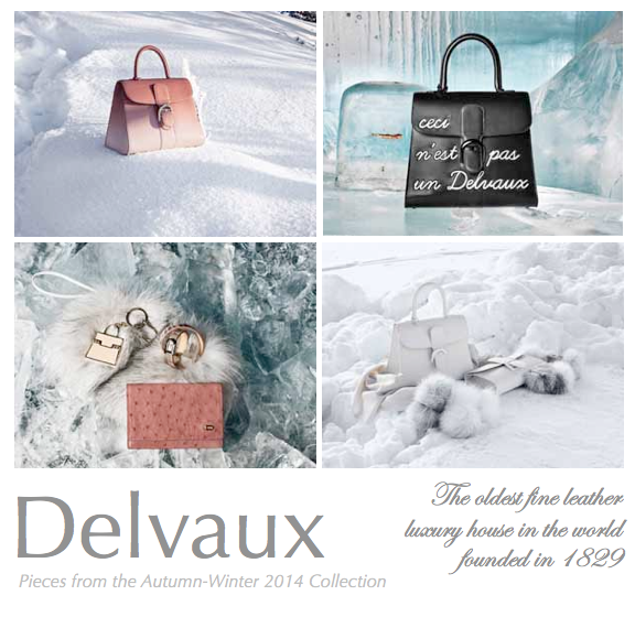 Delvaux aw 2014 collection