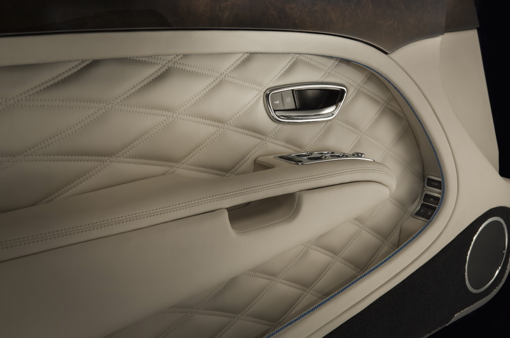 bentley convertible interior