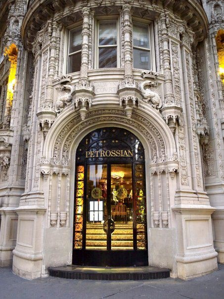 petrossian new york door