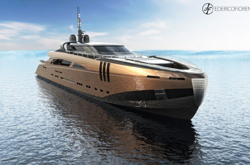 "Federico Fiorentino The Belafonte  2 The Belafonte, a 50 meter ""modern classic"" new concept yacht by Federico Fiorentino - EAT LOVE SAVOR International luxury lifestyle magazine and bookazines"
