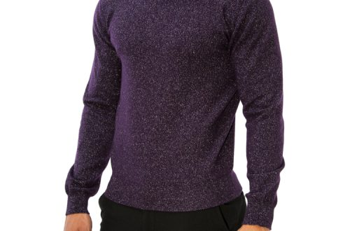 bolan mens rollneck cashmere lurex sweater.004 Gentlemen's Fashion: Limited Edition Luxury Cashmere Sweater With Silver EAT LOVE SAVOR International luxury lifestyle magazine and bookazines