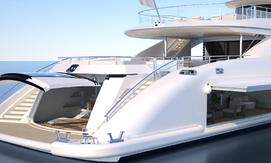 ISA yacht exterior
