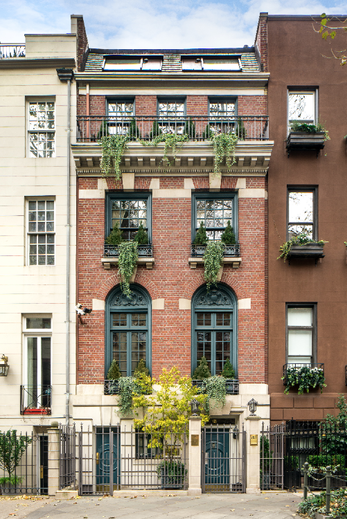 Elliman townhouse nyc exterior eat love savor for Townhouse exterior