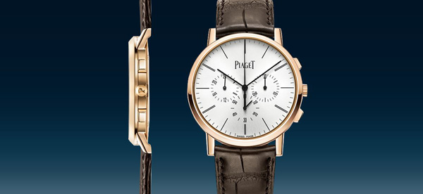 piaget flyback chronograph Piaget Presents World's Thinnest Hand-Wound Flyback Chronograph EAT LOVE SAVOR International luxury lifestyle magazine and bookazines