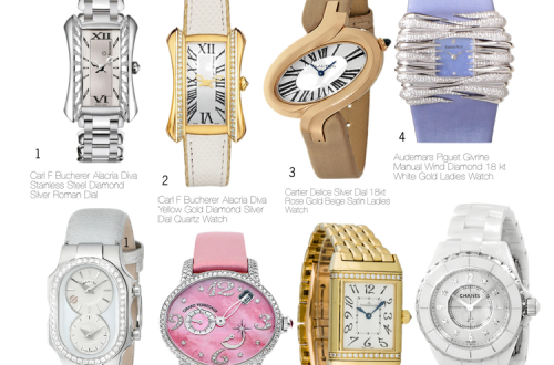 the edit timepieces for her The Edit: Timepieces for Her - EAT LOVE SAVOR International luxury lifestyle magazine and bookazines
