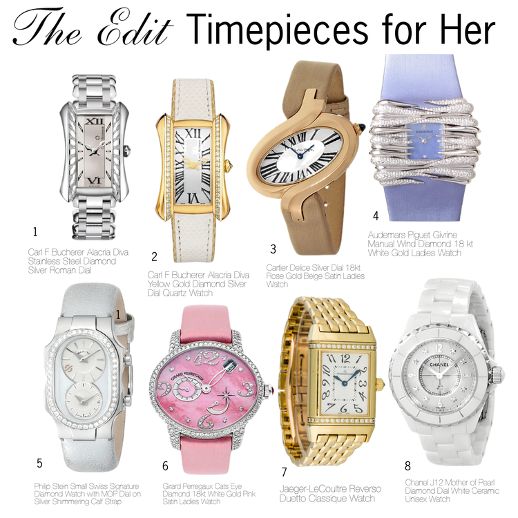 the edit timepieces for her