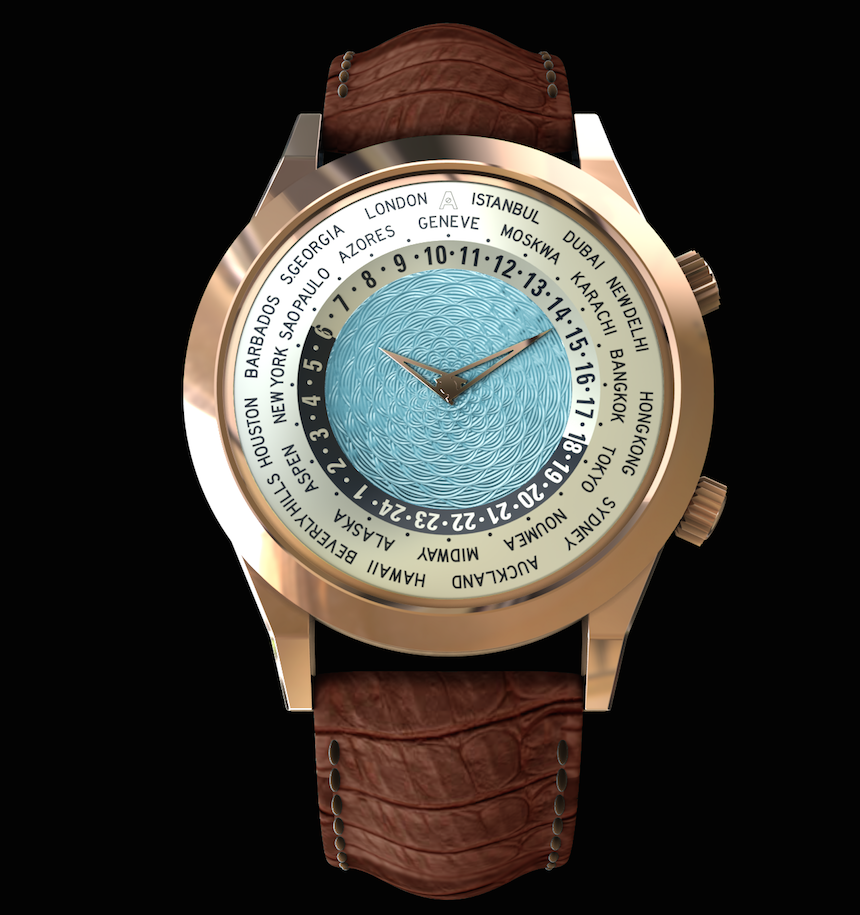 ANDERSEN GENEVE Tempus Terrae A New World Time Watch by ANDERSEN GENEVE – The Tempus Terrae EAT LOVE SAVOR International luxury lifestyle magazine and bookazines